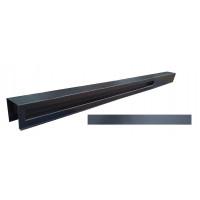 "Форма для столба угловой распашная №37 ""Гладкий угловой"" с пазами. Размеры 130х130х2850 мм"