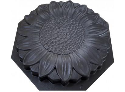 """Форма для изготовления плитки """"Подсолнух"""" 325х325х35 мм"""
