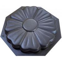 """Форма для изготовления плитки """"Ромашка"""" 320х320х35 мм"""