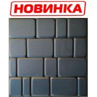 """Форма для изготовления плитки """"Старый город"""" 500х500х50 мм"""