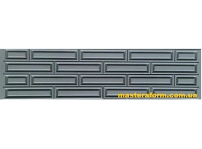 Форма для забора из стеклопластика №51 Размеры: 2000х500х40 мм