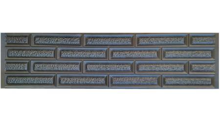 Форма для забора из АбС №59 Размеры: 2000х500х40 мм