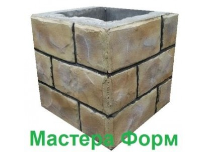Форма столба наборного Печенье Размеры: 300х300х300 мм