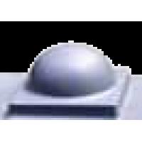 "Форма шапки ""Полусфера"" №3. Размер 160х160 мм"