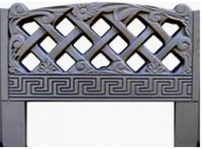Форма для изготовления оградок №7 Размеры: 800х600х40 мм