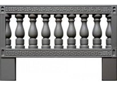 Форма для изготовления оградок №9 Размеры: 1000х650х40 мм