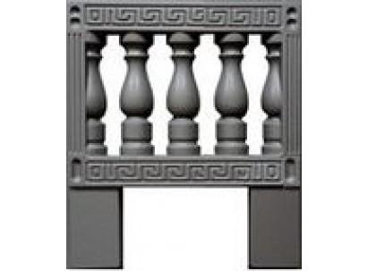 Форма для изготовления оградок №9а Размеры: 500х650х40 мм