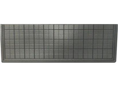 Форма плиты противоусадочной под памятник №4.2. Размеры 1950х650х50мм