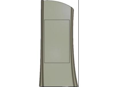Форма стелы №328 Размеры: 1210х460х80 мм
